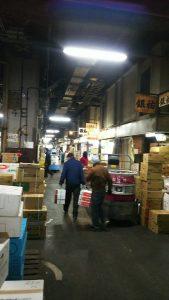 築地市場写真