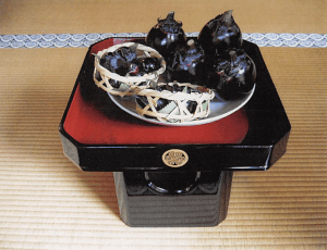 幕府に献上されていた折戸茄子